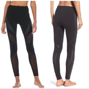 ALO Yoga Epic Black High Waist Leggings, M